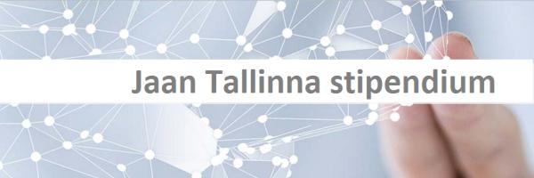 foto: Jaan Tallinna stipendium